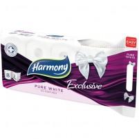 Harmony exclusive pure white 8 wc papír Tisztítószer Webáruház