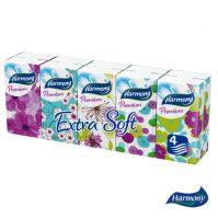 Papírzsebkendő HARMONY_Pémium_10x10-4rétegű