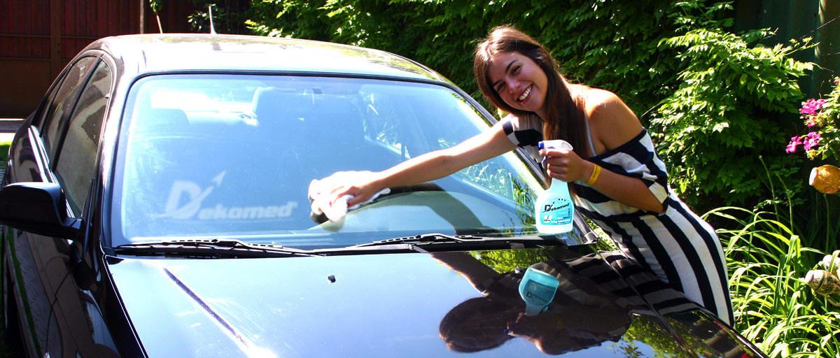 Dekomed autó takarítás