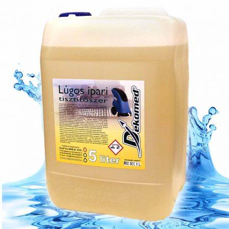 Dekomed lúgos ipari tisztítószer 5 literes