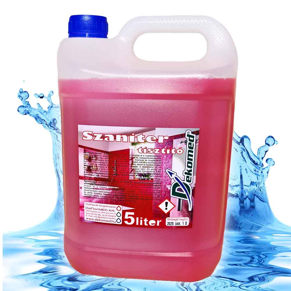 Dekomed szaniter tisztító 5 literes