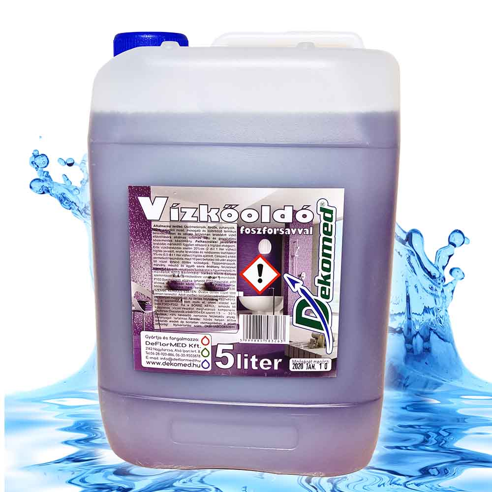 Dekomed vízkőoldó 5 literes