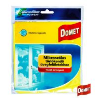 Domet Mikroszálas törlőkendő üvegfelületekhez