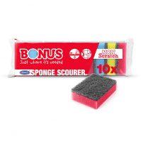 Bonus dörzsi szivacs 10 db-os Tisztítószer Webáruház