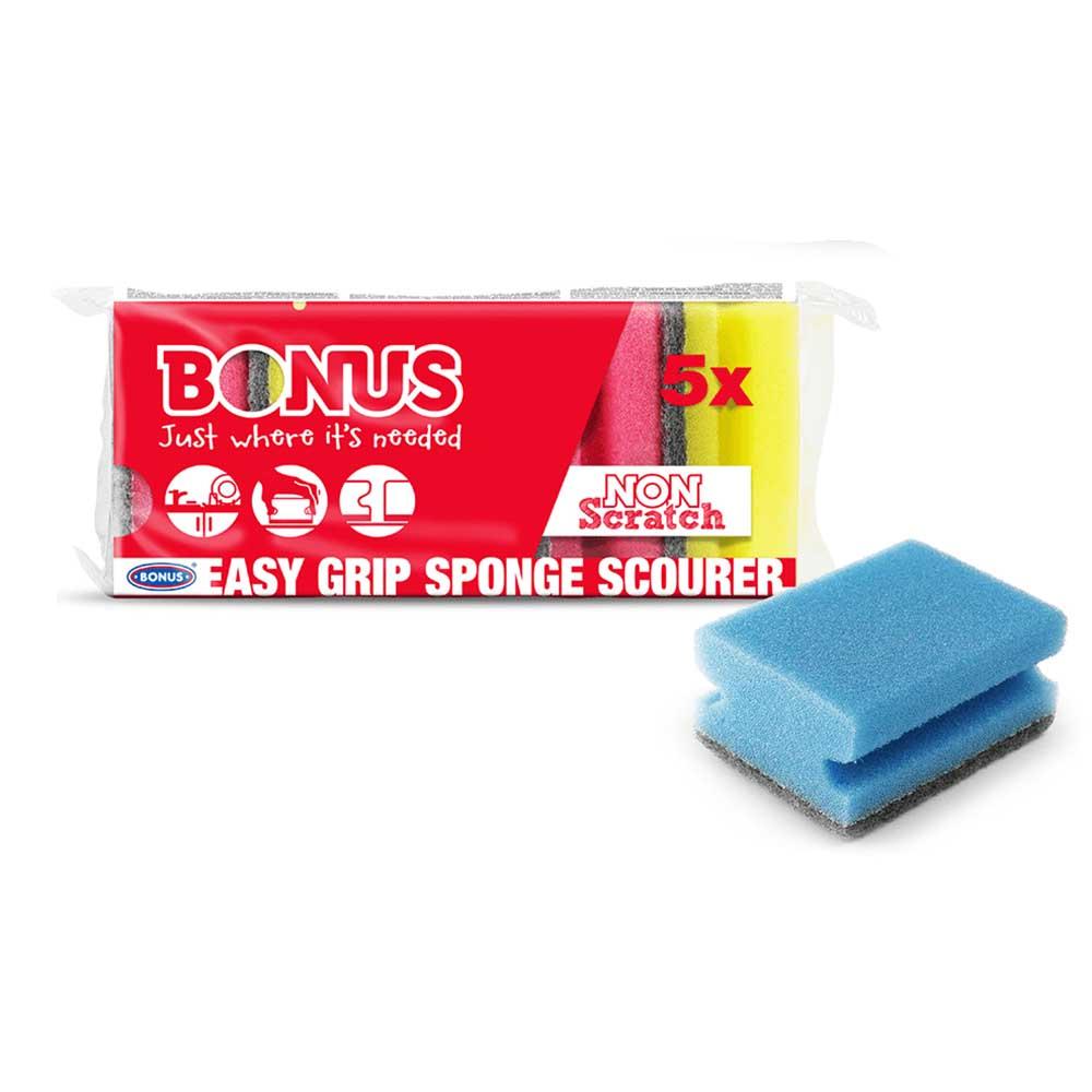 Bonus dörzsis szivacs 5db-os formázott Tisztítószer Webáruház