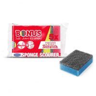 Bonus dörzsis szivacs 5db-os normal Tisztítószer Webáruház