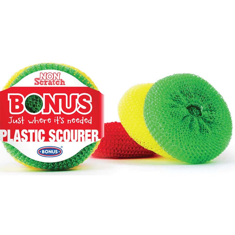 Bonus műanyag-súroló dorzsi 3db-os Tisztítószer Webáruház