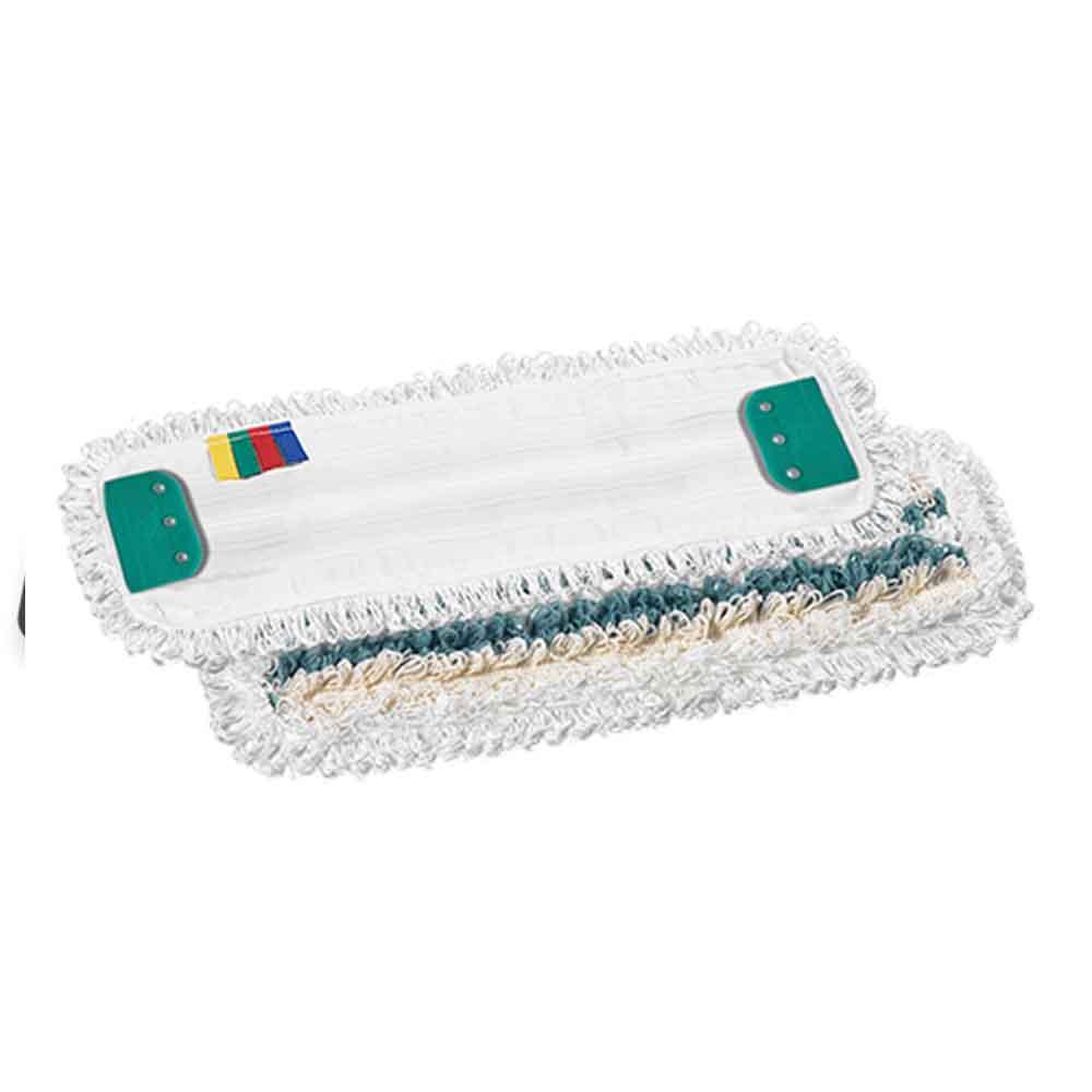 Felmosó lapos mop 40 cm-es, pamut