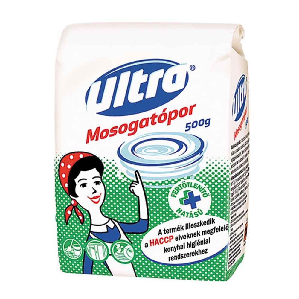 ULTRA fertőtlenítő hatású mosogatópor 500 gramm