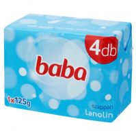 Baba szappan lanolinos 4 darabos csomag