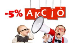 5% akció Deko-Takker facebook csoport tagoknak