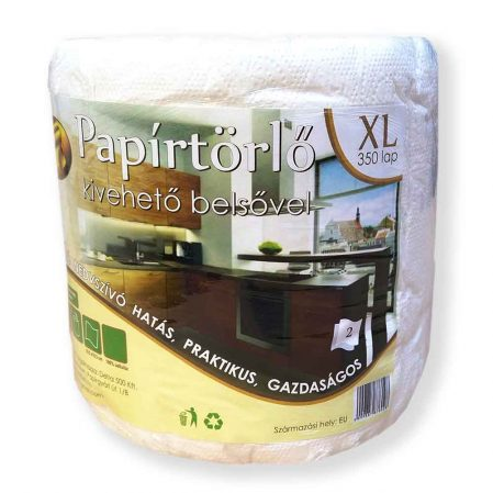 Delta XL univerzális konyhai papírtörlő 2 rétegű 350 lap