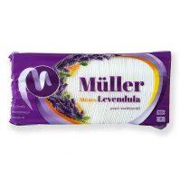 Müller papír zsebkendő mézes levendula illató 100 db-os 3 rétegű