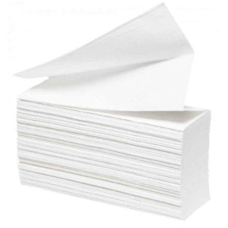 Z vagy V hajtogatott papír kéztörlő 2 rétegű 100% cel