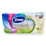Zewa delux Toalett WC papír 3 rétegű jázmin illatú 8 tekercses csomag