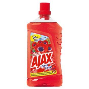 Ajax floral fiesta általános tisztító Red Flowers 1 literes