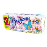 Graziosa Toalett WC papír 8+2 tekercses 3 rétegű